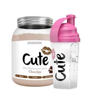 SHAKE CHOCOLAT ET SHAKER ROSE CUTE