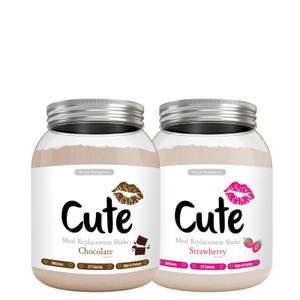 COFFRET SHAKES SAVEURS CHOCOLAT ET FRAISE