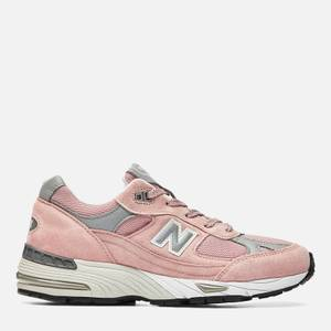 New Balance Womens's 991 Trainers - Pink/Grey
