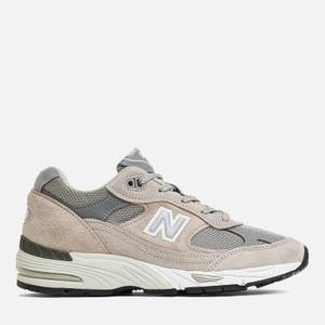 New Balance Womens's Made In Uk 991 Trainers - Grey/White