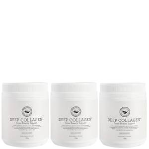 The Beauty Chef Deep Collagen Inner Beauty Support Trio (Worth $225.00)