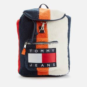 Tommy Jeans Men's Heritage Colourblock Backpack - Multi