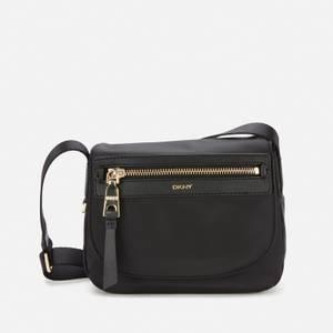DKNY Women's Cora Nylon Cross Body Bag - Black