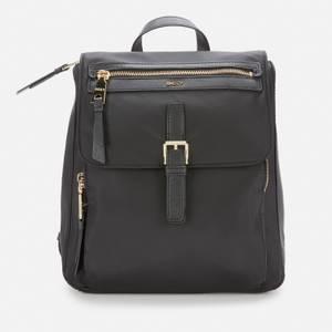 DKNY Women's Cora Nylon Backpack - Black