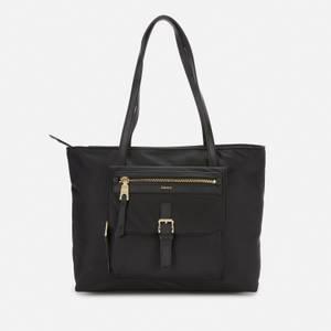 DKNY Women's Cora Nylon Tote Bag - Black