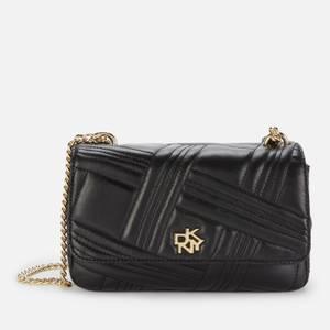 DKNY Women's Alice Quilted shoulder Bag - Black
