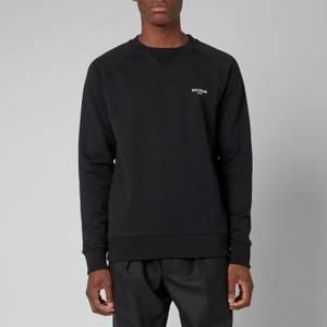 Balmain Men's Eco Design Flock Sweatshirt - Black/White