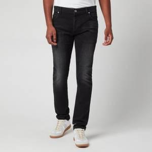 Balmain Men's 6 Pocket Denim Slim Jeans - Black