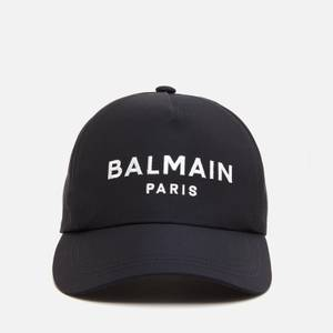 Balmain Men's Cotton Twill Cap - Navy