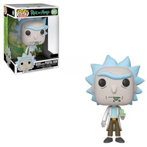 Rick and Morty  Rick with Portal 10-Inch Funko Pop! Vinyl