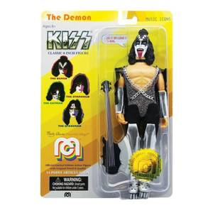 Mego 8 Inch Kiss Gene Simmon Action Figure