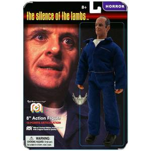 "Mego 8"" Silence of the Lambs Hannibal Lecter Action Figure (Card Variant)"