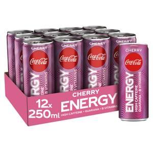 Coca-Cola Energy Cherry 12 x 250ml