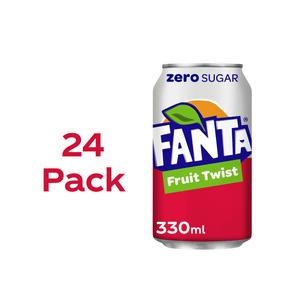 Fanta Fruit Twist Zero 24 x 330ml