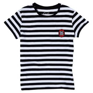 T-Shirt Femme Cruella - Rayures Noires et Blanches