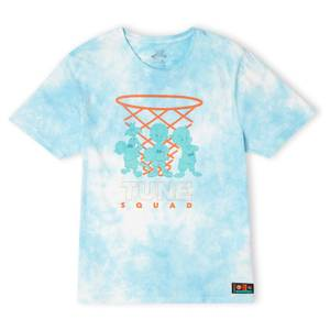 Space Jam Tune Squad Characters Unisex T-Shirt - Turquoise Tie Dye