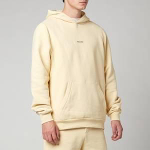 Holzweiler Men's Fleek Pullover Hoodie - Light Yellow