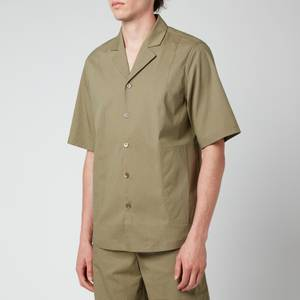Holzweiler Men's Wilas Short Sleeve Shirt - Olive Green
