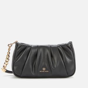 MICHAEL MICHAEL KORS 女士 Hannah 可转换手拿包 - 黑色