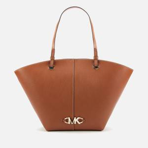 MICHAEL Michael Kors Women's Izzy Fan Tote Bag - Luggage