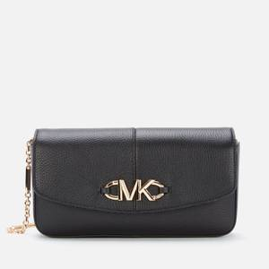 MICHAEL Michael Kors Women's Izzy Clutch Bag - Black