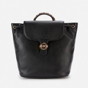 MICHAEL Michael Kors Women's Mina Drawstring Backpack - Black