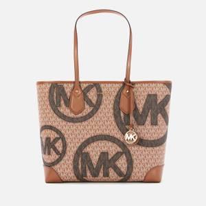 MICHAEL Michael Kors Women's Eva Tote Bag - Luggage/Multi