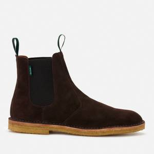 PS Paul Smith Men's Jim Suede Chelsea Boots - Chocolate