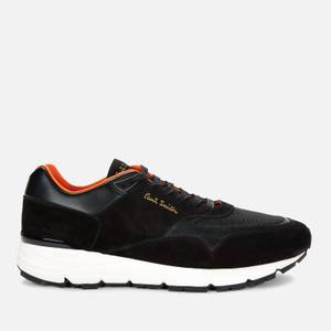 Paul Smith Men's Gordon Leather Running Style Trainers - Black