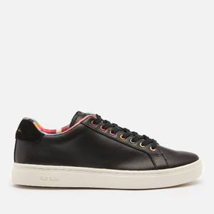 Paul Smith Women's Lapin Leather Cupsole Trainers - Black