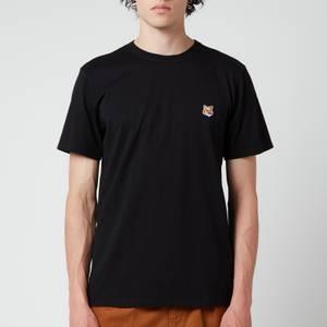 Maison Kitsuné Men's Fox Head Patch Classic T-Shirt - Black