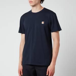 Maison Kitsuné Men's Fox Head Patch Classic T-Shirt - Navy