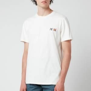 Maison Kitsuné Double Fox Head Patch Classic T-Shirt - Latte