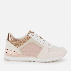 MICHAEL Michael Kors Women's Billie Running Style Trainers - Light Cream Multi