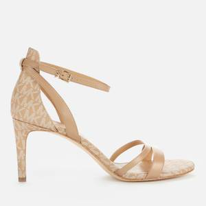 MICHAEL Michael Kors Women's Kimberley Barely There Heeled Sandals - Camel