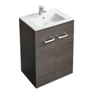 Ideal Standard Tempo 60cm Freestanding Vanity Unit Pack - Lava Grey