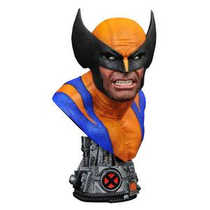 Diamond Select Marvel Legends In 3D 1/2 Scale Bust - Wolverine