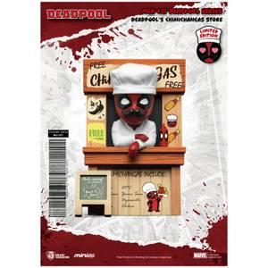 Beast Kingdom Deadpool Deadpool's Chimichangas Winkel Mini Ei-Aanval Figurine