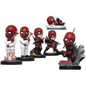 Beast Kingdom Deadpool Serie Mini Ei-Aanval Figurine 6-delige Set