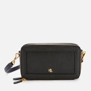 Lauren Ralph Lauren Women's Crosshatch Danna Cross Body Bag - Black