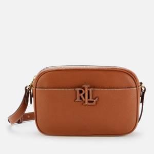 Lauren Ralph Lauren Women's Stacked Leather Carrie Cross Body Bag - Tan