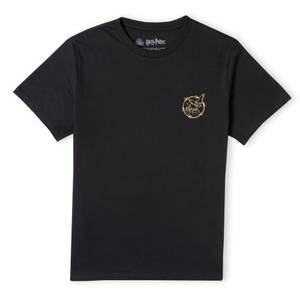 Harry Potter Metallic Pocket Print Men's T-Shirt - Black