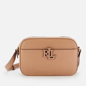 Lauren Ralph Lauren Women's Stacked Leather Carrie Cross Body Bag - Nude