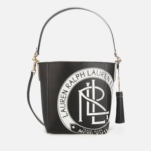 Lauren Ralph Lauren Women's Smooth Adley Shoulder Bag - Black