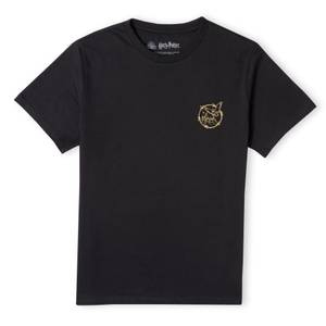Harry Potter Metallic Pocket Print Women's T-Shirt - Black