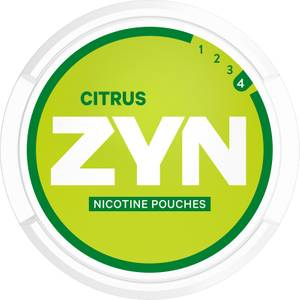 ZYN® Citrus Strong Free Sample