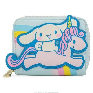 Loungefly Sanrio Cinnamaroll Unicorn Zip Around Wallet