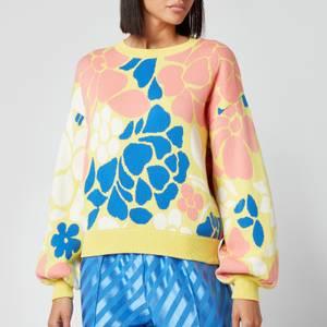 Stine Goya Women's Karli Jumper - Banana Leaf Knit