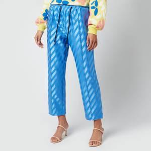 Stine Goya Women's Uili Stripe Trousers - Striped Blue
