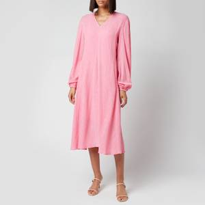 Stine Goya Women's Rosen Crinkled Dress - Pink